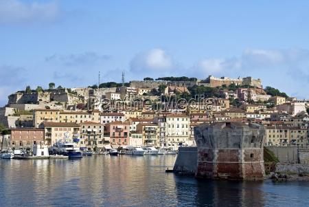 portoferraio isola delba elba tuscany italy