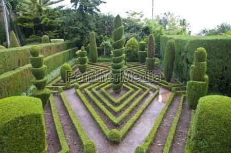 paseo viaje jardin europa horizontalmente al