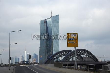 alemania hesse frankfurt vista al banco