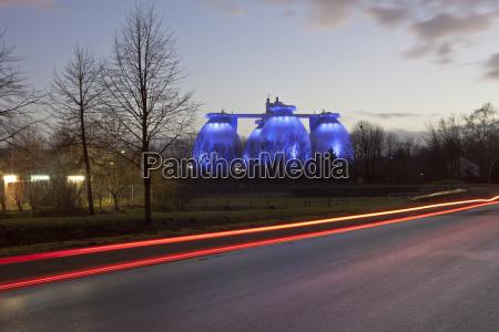 azul movimiento en movimiento arbol trafico