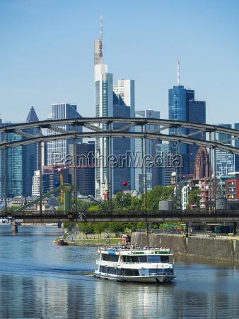 alemania hesse frankfurt puente de deutschherrn