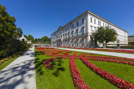 paseo viaje jardin austria al aire