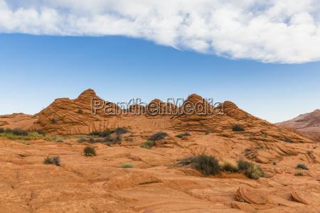 paseo viaje nube eeuu rocas rock
