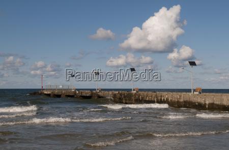 aguas nube de agua mar baltico