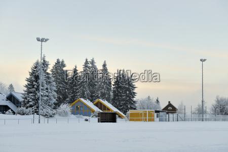alemania tumijia oberhof campo deportivo en