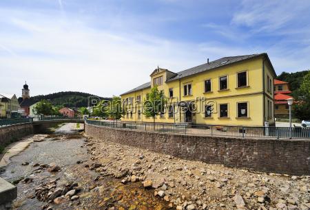 alemania sajonia schmiedeberg escuela y museo