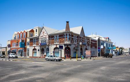 namibia swakopmund edificio historico estilo colonial