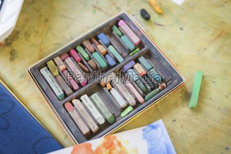 ocio espacio pintura estudio alemania imaginacion