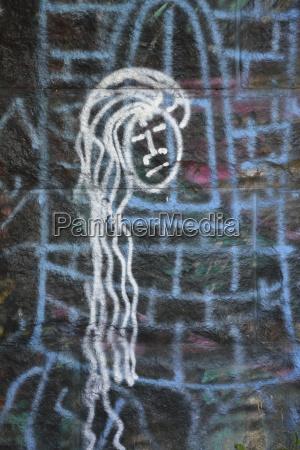 ciudad pintura baviera pared alemania al