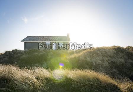 denmark henne strand house in the