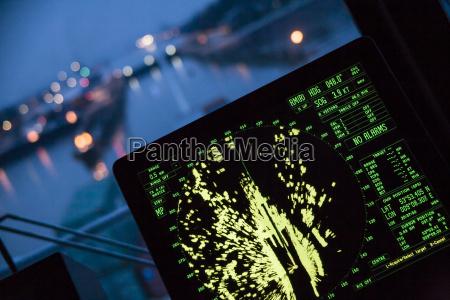 alemania hamburgo radar de navegacion de