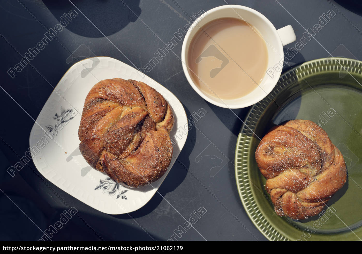 desayuno, sueco, sencillo, con, bollos, de - 21062129