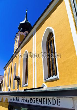 torre religion iglesia austria al aire