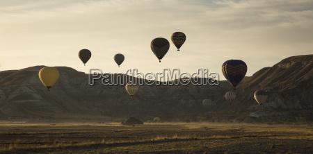 turkey anatolia cappadocia hot air ballons