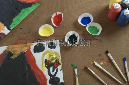 alemania, baden, wuerttemberg, constanza, cepillos, y, colores, con, imagen - 21086973
