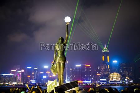china hong kong sinfonia de luces
