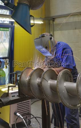industria reparacion posicion espiral forma tecnologia