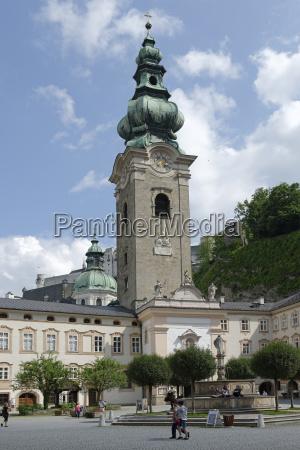 austria salzburgo iglesia conventual san pedro