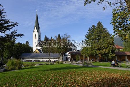 alemania swabia oberstdorf im allgaeu jardin