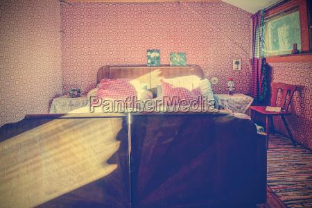 muebles espacio cama nostalgia alemania fotografia