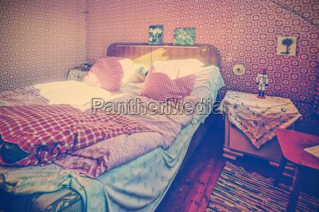 dormitorio anticuado