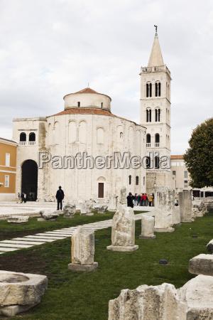 croacia zadar iglesia redonda de sv