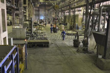 trabajo industria lugar de trabajo caliente