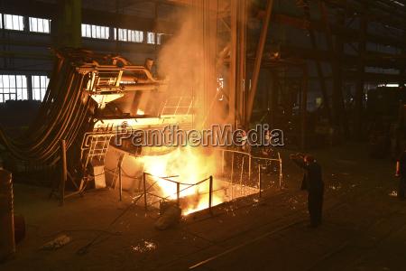 germany saxony workers racking the blast