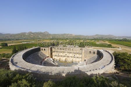 turquia serik antigua ciudad aspendos teatro