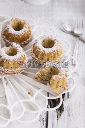 pequenyas tortas del anillo de la