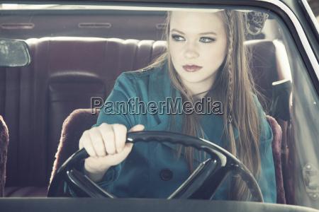 retrato nostalgia coche carro vehiculo transporte
