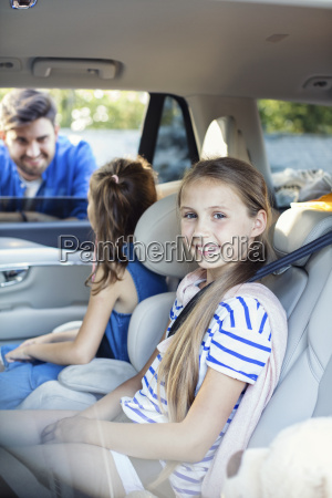 risilla sonrisas paseo viaje coche carro