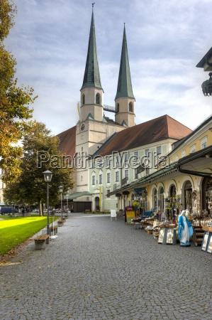 germany bavaria upper bavaria altoetting kapellplatz