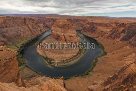 usa arizona page colorado river glen