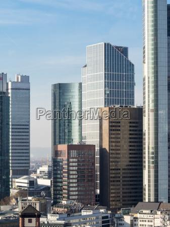 alemania hesse frankfurt distrito financiero