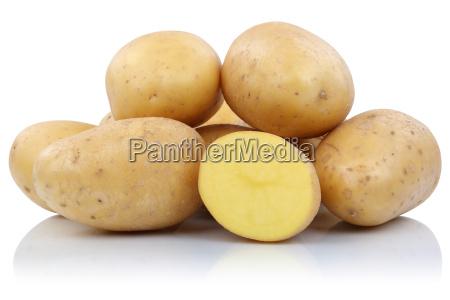 patatas cortan verduras frescas de rango