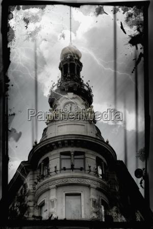 torre peligro europa espanya tormenta tormentoso