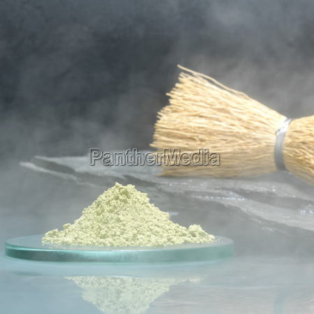 te piedra frescura bambu japones polvo