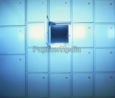 abierto proteger numero destape almacenamiento rectangulo