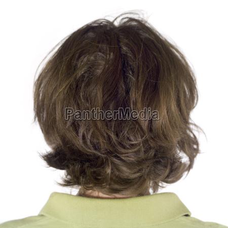 woman rear view