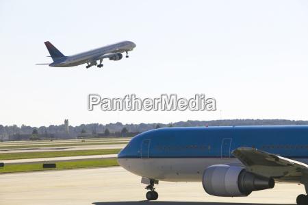 usa atlanta airplane