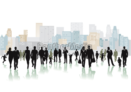 large group of people on a