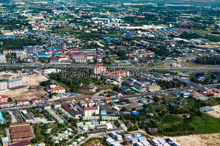 industrial estate land development construction and