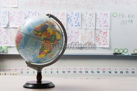 globo en el aula elemental