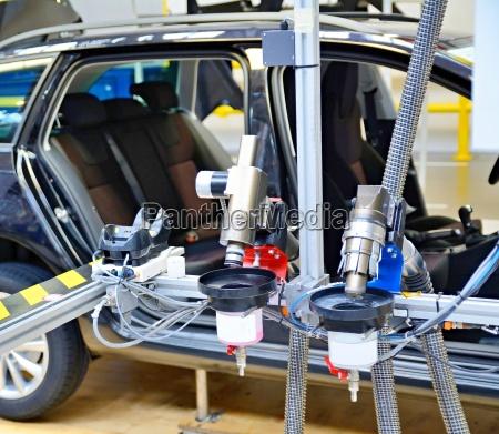 moderno industria industrial tecnologia trafico coche