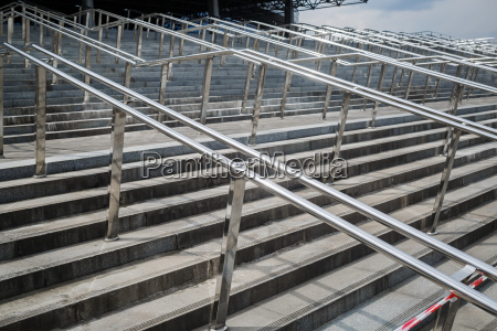 escalera moderno metal estilo de construccion