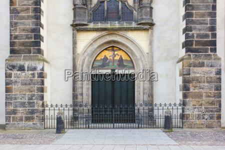 historico religion iglesia arte puerta alemania