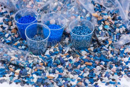 resina de plastico suelo molido granulos