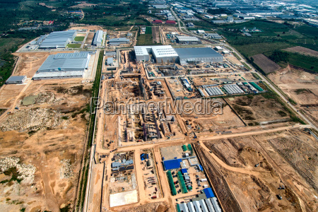 industrial estate land development earthmoving and