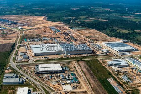 industrial estate land development earthmoving
